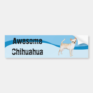 Awesome Chihuahua Bumper Sticker