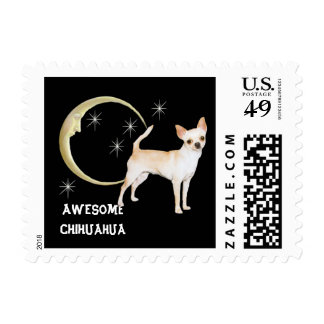 Awesome Chihuahua Stamp