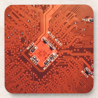 Awesome Circuit Board Drink Coaster