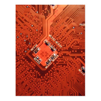 Awesome Circuit Board Postcard