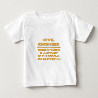 Awesome Civil Engineer .. Official Job Description T Shirt