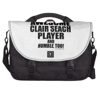 Awesome Clair Seach Player Bags For Laptop