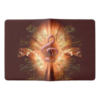 Awesome clef with light effects 10 extra large moleskine notebook cover with notebook