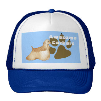 Awesome Cockers Spaniel Trucker Hat