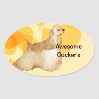 Awesome Cockers Sticker
