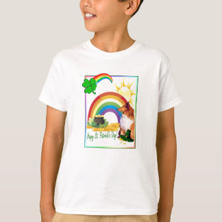 Awesome Collie St. Patrick's Day Wishes T-Shirt