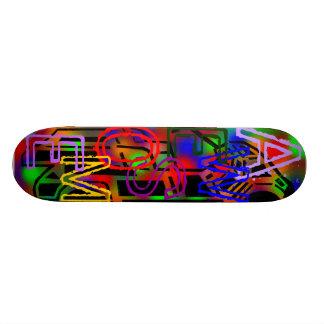 Awesome Color Skateboard Deck