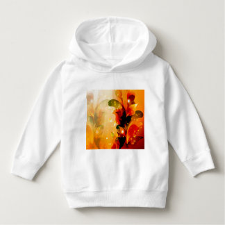 Awesome colorful leaves with glowing light hoodie