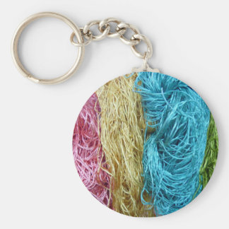 Awesome Colorful Wool Yarn Crochet Knit Design Key Chains