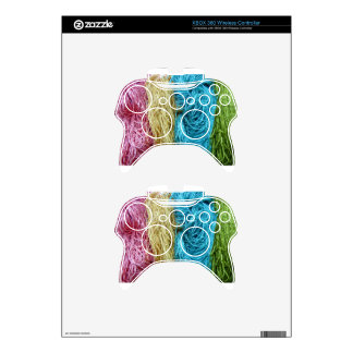 Awesome Colorful Wool Yarn Crochet Knit Design Xbox 360 Controller Skins