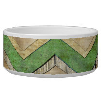 Awesome cool chevron zigzag pattern bowl