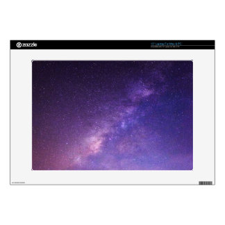 """Awesome Cool Clear Night Sky 15"""" Laptop Skin"""