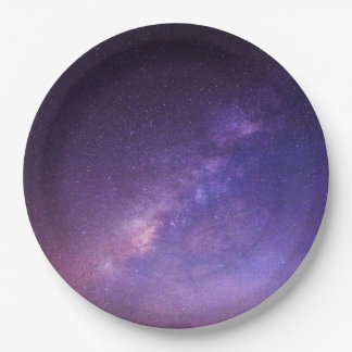 Awesome Cool Clear Night Sky Paper Plate