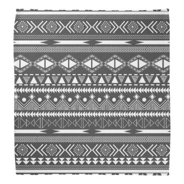 Aztec Themed Awesome Cool trendy Aztec tribal Andes pattern Bandana