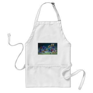 Awesome Coral Reef Adult Apron