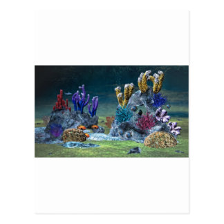 Awesome Coral Reef Postcard