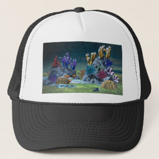 Awesome Coral Reef Trucker Hat