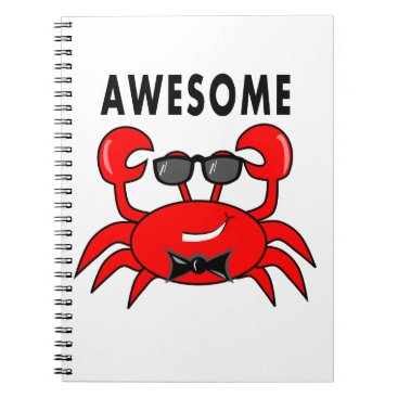 Professional Business Awesome Crab Notebook