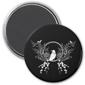 Awesome crow magnet