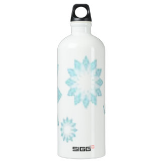 Awesome crystal design aluminum water bottle