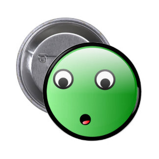 Awesome Curious Pinback Button