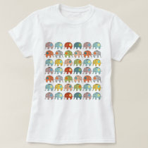 Awesome cute trendy circus Indian elephant T-Shirt