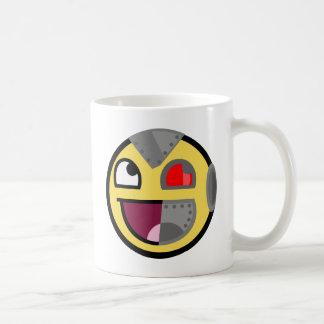 Awesome Cyborg Robot Classic White Coffee Mug