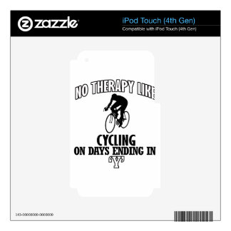Awesome Cycling DESIGNS iPod Touch 4G Decals