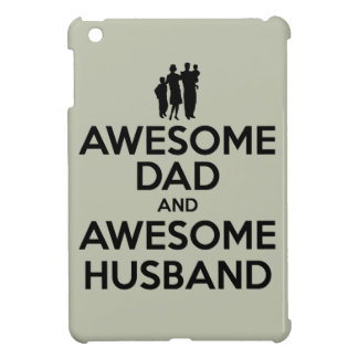 Awesome Dad And Awesome Husband iPad Mini Cases