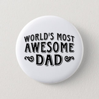 Awesome Dad Button