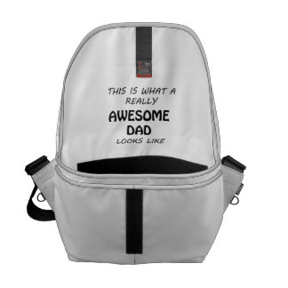 Awesome Dad Courier Bag