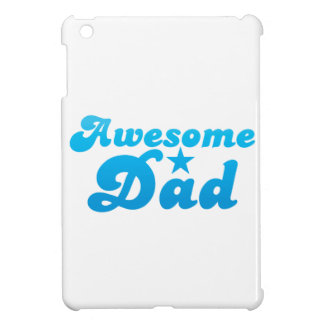Awesome DAD in blue iPad Mini Cases