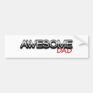 Awesome Dad, No.1 Dad, Fathers Day Bumper Sticker