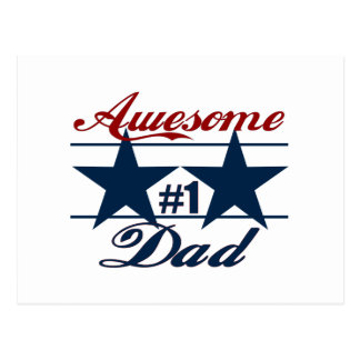 Awesome Dad Postcard
