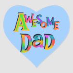 Awesome Dad T-shirts and Gifts Stickers