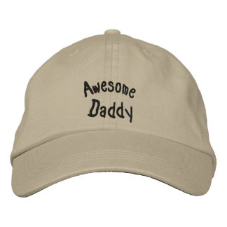 Awesome Daddy Embroidered Baseball Cap
