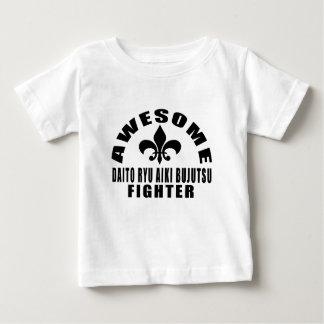 AWESOME DAITO RYU AIKI BUJUTSU FIGHTER BABY T-Shirt