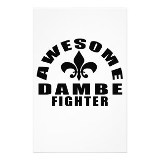 AWESOME DAMBE FIGHTER STATIONERY