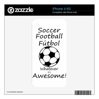 awesome decal for iPhone 4