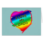 Awesome Design for Gay Dads Greeting Cards
