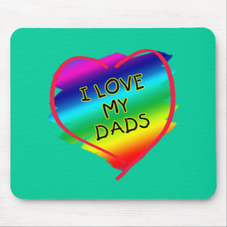 Awesome Design for Gay Dads Mouse Pad