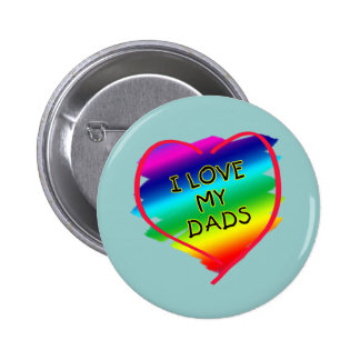 Awesome Design for Gay Dads Pinback Button