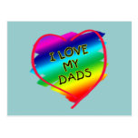 Awesome Design for Gay Dads Postcard