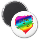 Awesome Design for Gay Dads Refrigerator Magnets