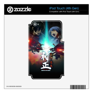 Awesome designs items iPod touch 4G decal