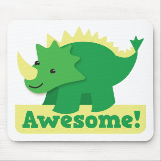 awesome dino mouse pad