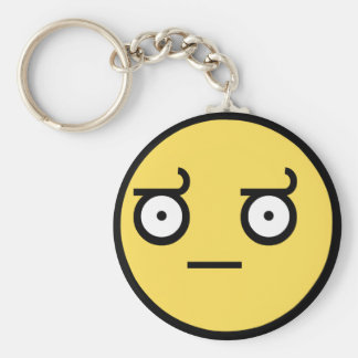 Awesome Disapproval Face Key Chains