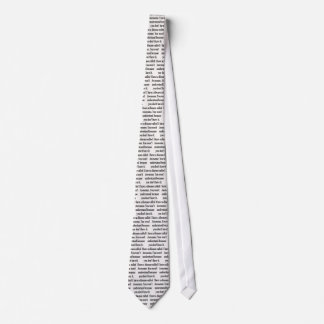 awesome disease neck tie