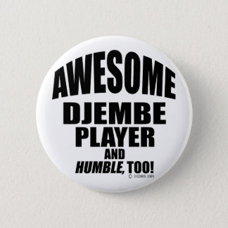 Awesome Djembe Player Button