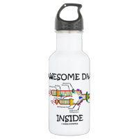 Awesome DNA Inside (DNA Replication) 18oz Water Bottle
